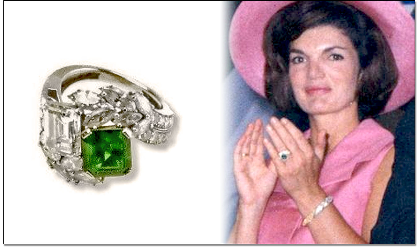 Exceptionnel Jacqueline Kennedy Engagement Ring