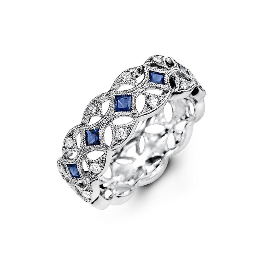 96 royal wedding bands amazing sapphire