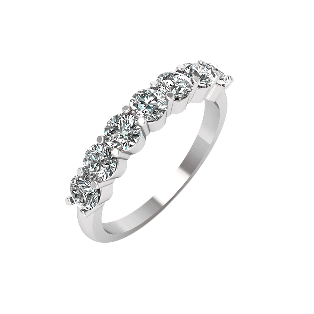 Stone Diamond Ring Angelina Timeless Wedding Bands