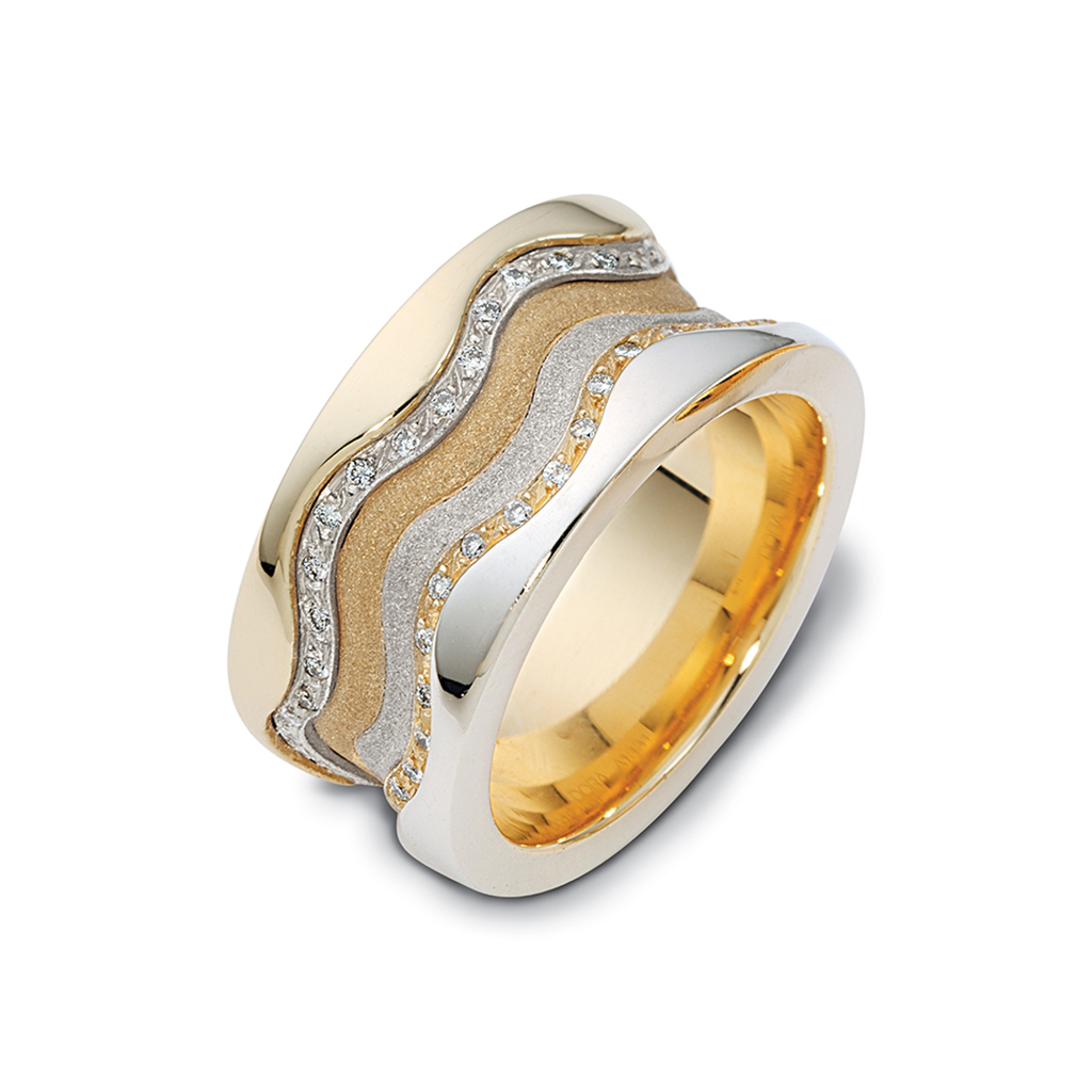 Coral Wedding Ring Timeless Wedding Bands